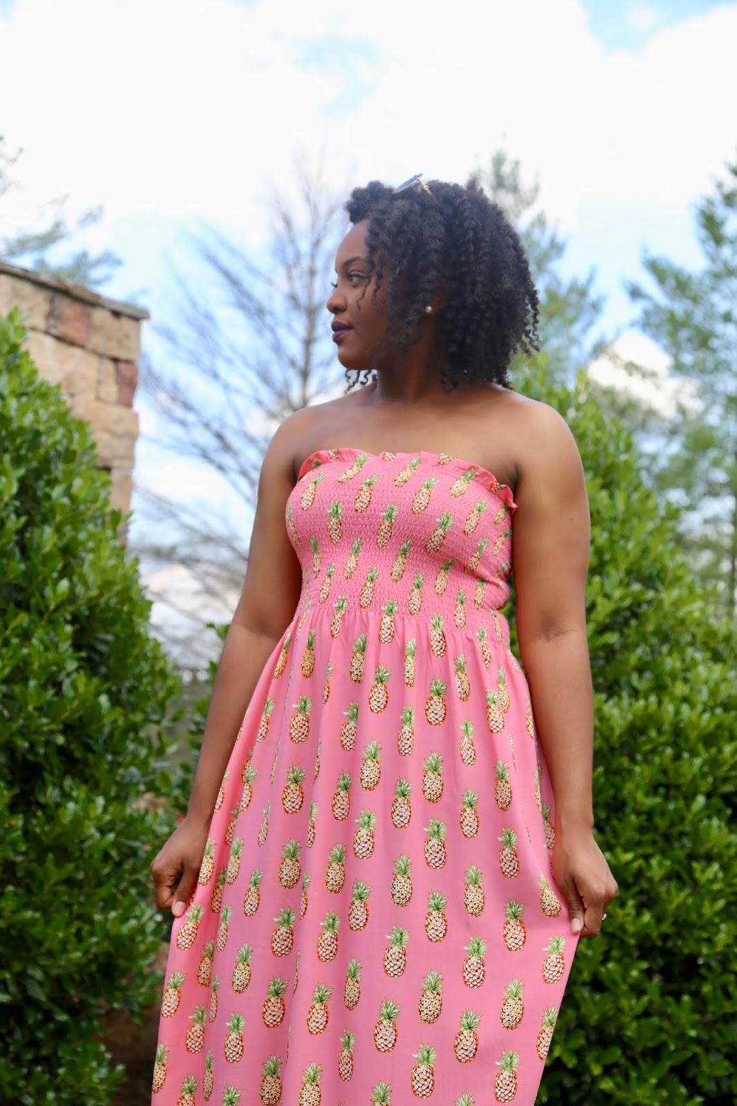 DIY Smocked Maxi Dress Tutorial - I've Moved!!!